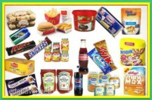 список изготовителей продуктов с ГМО